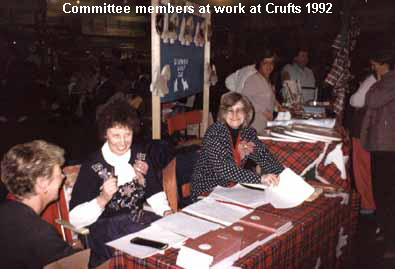 a_Committee_members_at_work_at_Crufts_1992